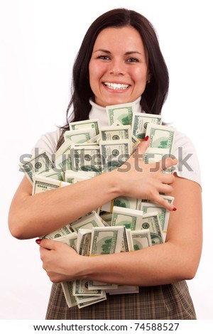 Image result for lucky woman