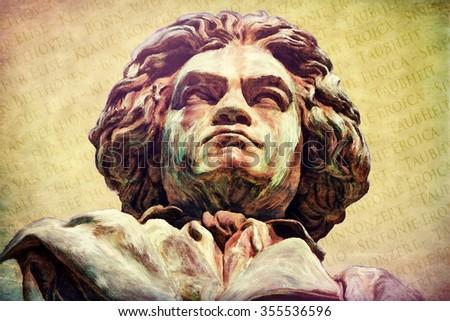 Ludwig van Beethoven - stock photo