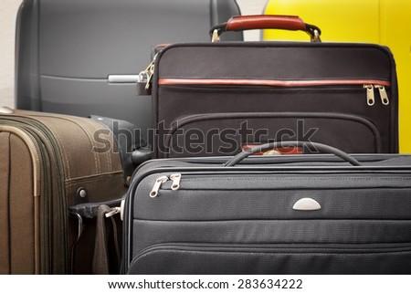 luggage bags - stock photo