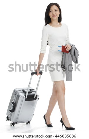 Luggage business women