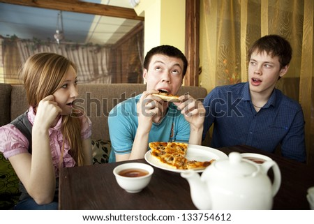 Lunch. - stock photo