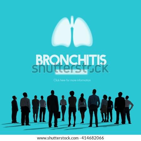 Lungs Medicine Pneumonia Asthma Bronchitis Concept - stock photo