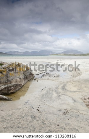 Luskentyre Beach, Isle of Harris; Outer Hebrides, Scotland, UK