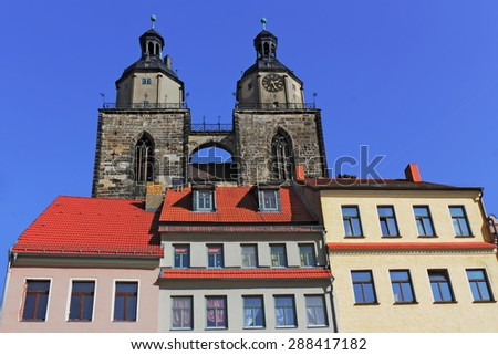 Luther City Wittenberg - stock photo
