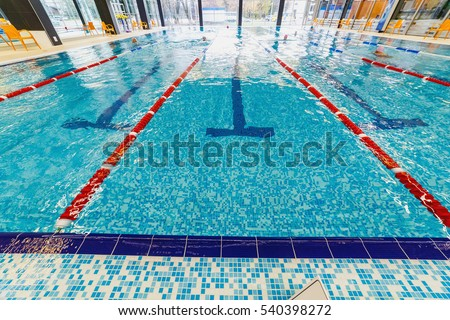 Olympic swimming pool stock images royalty free images - Opening a swimming pool after winter ...