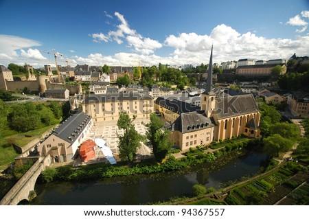 Luxembourg - stock photo