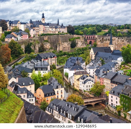 Luxembourg city stock photo royalty free 129048695 shutterstock luxembourg city altavistaventures Choice Image