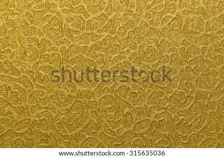 Luxurious golden background with textures / Gold background / Ideal for display,packing or promotional items. Good for festive and holiday theme - stock photo