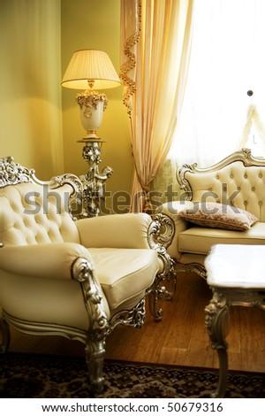 Luxurious Interior - stock photo
