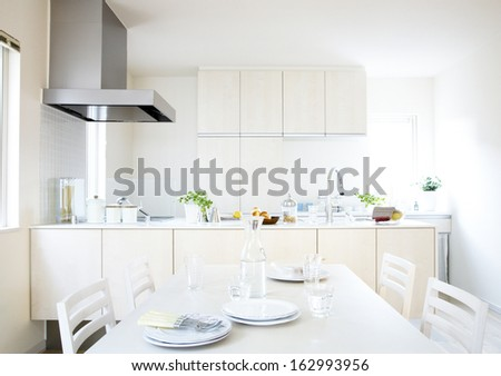 Luxurious kitchen - stock photo