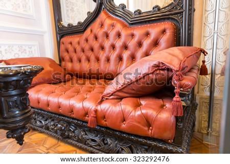 Luxuroius sofa  - stock photo