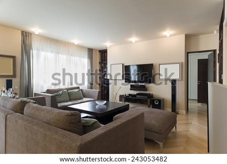 Luxury Apartments Living Room interior design living room stock photo 133777247 - shutterstock