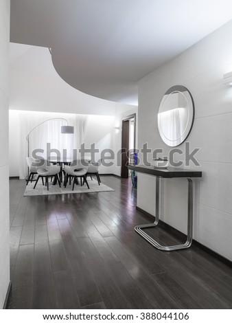 Luxury apartment interior - stock photo