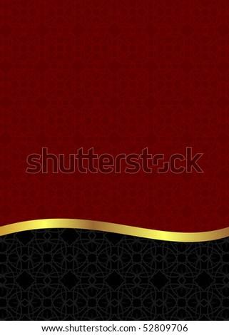 Luxury background card for design - Raster - stock photo