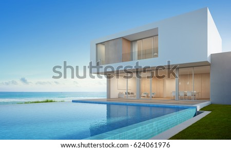 Big Nice House On The Beach beach house stock images, royalty-free images & vectors | shutterstock