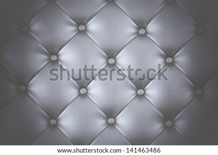 Luxury black leather close-up background - stock photo