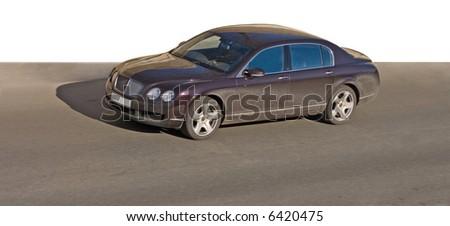 "luxury car of my  ""cars"" series - stock photo"