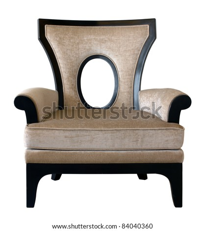Luxury chair - stock photo