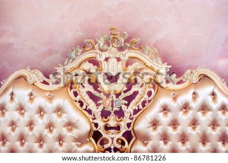 Luxury Classic Furniture - stock photo