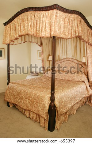 Luxury Four Poster Beds Four Poster Bed Stock Images Royaltyfree Images & Vectors .
