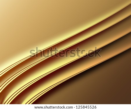 Luxury golden background ,Elegant abstract design - stock photo