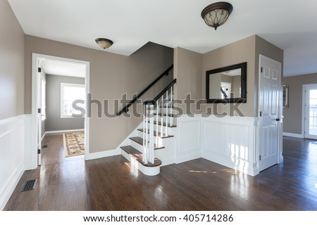 Luxury Home Interior - stock photo