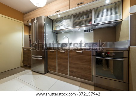 Stainless Steel Refrigerator Stock Images, Royalty-Free Images ...