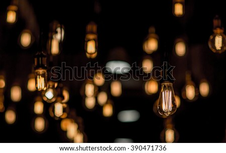 luxury lighting - stock photo