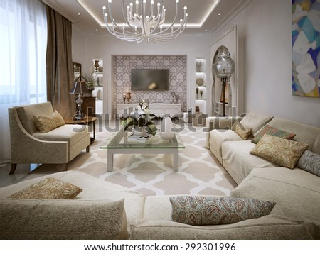 Arabic Living Room Stock Images Royalty Free Images Vectors Shutterstock