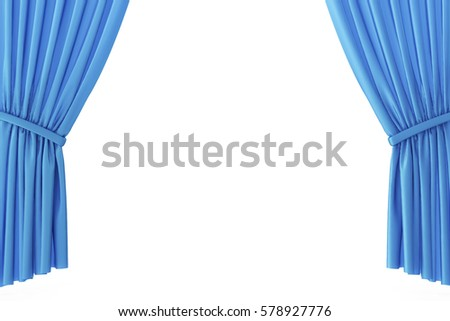 Curtains Ideas blue stage curtains : Blue Stage Curtain Stock Images, Royalty-Free Images & Vectors ...