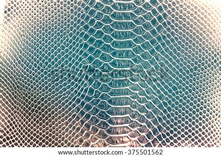 Luxury snake skin texture use for background - stock photo