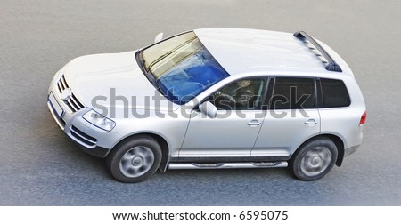 "Luxury sport utility vehicle of my ""suv cars"" series - stock photo"