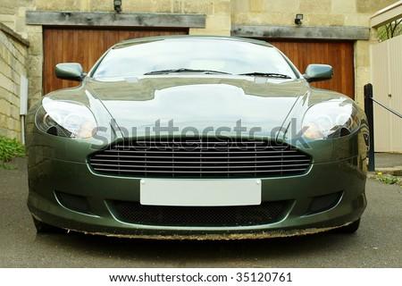 Luxury Sports Car - stock photo
