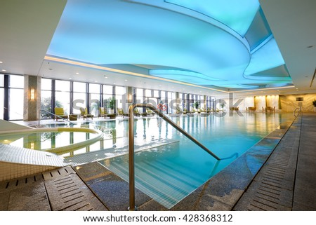 Hotel indoor pool  Hotel Indoor Pool Stock Images, Royalty-Free Images & Vectors ...
