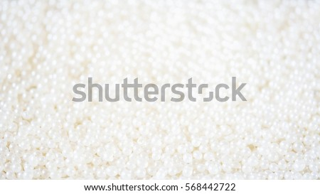 Luxury white pearl background.