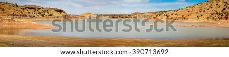 Lyman lake Arizona  - stock photo