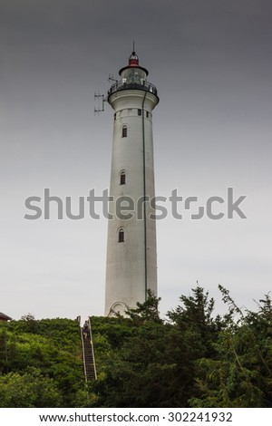 Lyngvig fyr lighthouse
