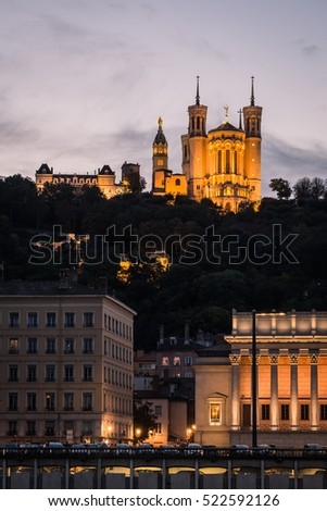 Lyon, France - cathedral