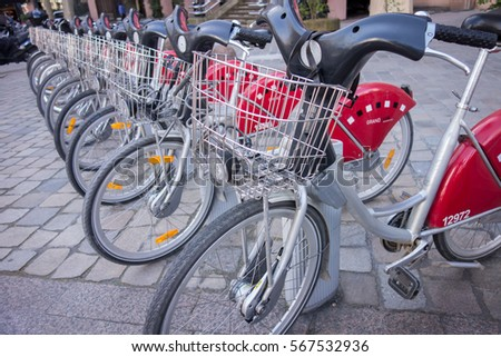 pomorie bulgaria march 24 2013 motorbike stock photo