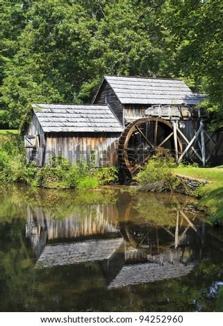 Mabry Mill - stock photo