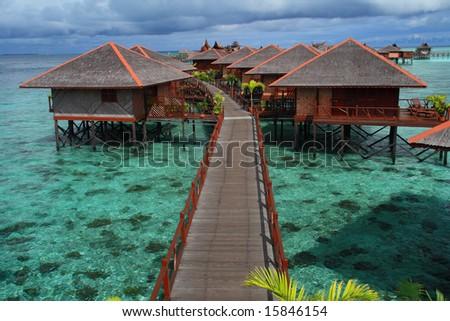 Mabul Island - stock photo