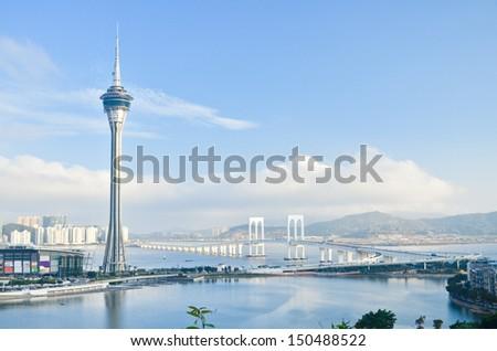 Macau tower - stock photo