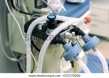 Anesthesiology heart rate machine