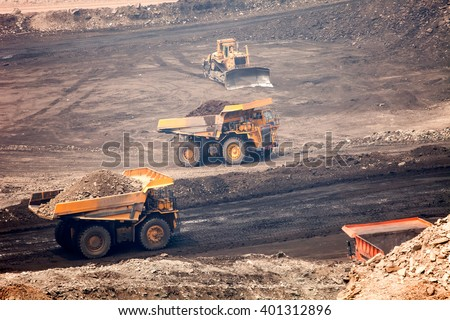 Machinery, mining - stock photo