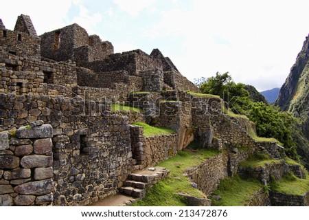 Machu Picchu - Peru - stock photo