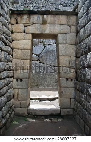 Machu Picchu . Peru - stock photo