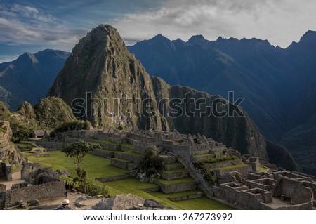 Machu Picchu, Peru, South America. - stock photo