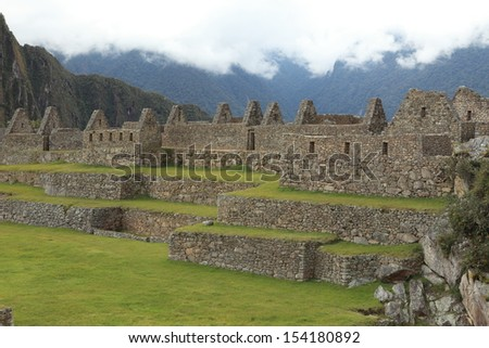 Machu Picchu the Inca city in the clouds