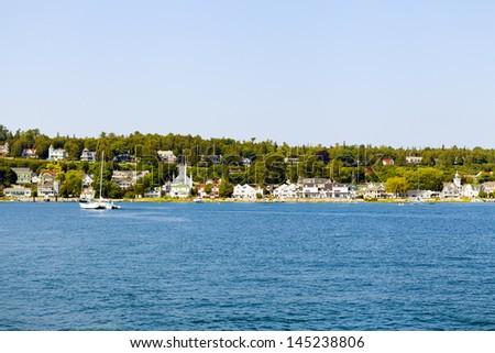 Mackinac Island - stock photo
