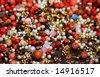 macro beads - stock photo